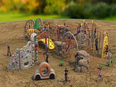 outdoor physical playground 1